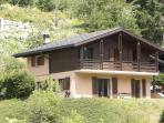Alpine Chalet is set in terraced gardens and is a great summer destination
