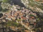 Minerve old village