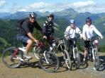 Mountain Bike holidays with Guiding in the Summer