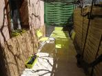 Private courtyard, WIFI, 2 bed