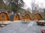 Bryn Dinas Camping Pods