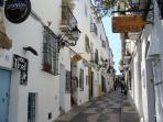 The wonderful Old Town of Altea