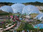 the eden project only arout 20 mins from our site one of the biggest attractions in cornwall