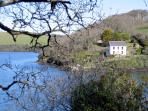 The scenic Helford River is just a few miles away.