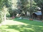 Large private enclosed garden great for kids and BBQs