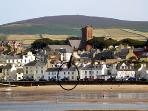 Isle of Man Beach Holiday Cottage golf nearby