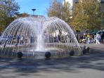 Fountain at Valence d'Agen