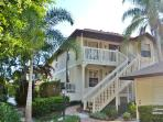 Spacious, comfortable 3 bedroom pet friendly condo with garage right in the heart of Olde Naples
