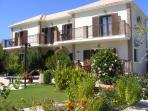 The colourful gardens surrounding your villa and the pool