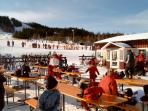 skiing at the local ski centre, larger downhill ski and crosscountry ski centres within reach for a
