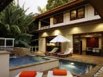 3 Bedrooms Private Pool Villa With Seaview For Rent In Kata Beach, Phuket