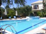 A view of Villa Oleander from the pool