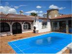 House With Pool And Mooring