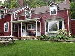 Charming farmhouse apt. on working farm. Ideal for families or a group of friends