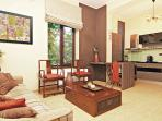 central 2 bedrooms with air condition
