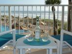 Coquina condo, Direct Oceanfront! Private WI-FI! New Listing, Remodeled with New Furniture!