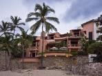 Exclusive beachfront Villa Marea Alta with Mexican style décor, pool & luxurious amenities