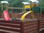 Children's playground on site