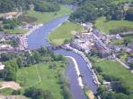 Graiguenamanagh/Tinnahinch from the air