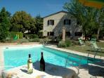The villa is a completely renovated peasant house