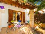 Cosy terraced house close to the beach of Sa Coma