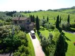 Villa with Pool in Farm in Florence Countryside