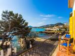 Apartment in front the sea in Cala Rajada