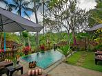 Spacious 2 BR Villa with Valley View Near Ubud
