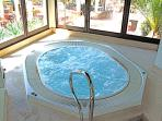 Jacuzzi in the gym