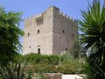 The medieval castle of Kolossi.