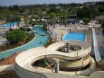The largest water park on the island is 15 minutes drive away