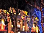 Downtown Courthouse at Christmas
