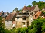 The picturesque medieval village of Gargilesse, a member of  the most beautiful villages of France 2