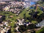 Birds view - country club