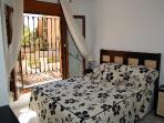Double bed with en-suit air condition & celling fan