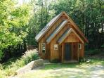 Liberty Hill an adorable, picturesque cabin in the woods, sleeps 9