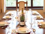 Entertain your guests or enjoy a meal with friends