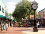 Main street Old Town, Kissimmee, the time of your life