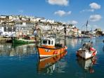 The picturesque harbour at Mevagissey