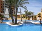 Apartment for 4 persons, with swimming pool , near the beach in Cabo de Palos