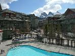 Canmore Vacation Rental with Mountain Views + Pool