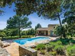 Baby-Friendly Villa Nathalie In Beautiful Garden with Private Pool, Covered Terrace & BBQ