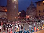 Giostra dell'Orso medieval game