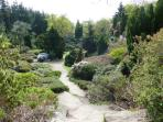 Close to Exbury gardens, famous for its spring and autumn colour.