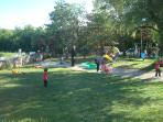 Spring Kids' Party in the Frontyard