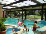 Maison Papillon private pool and games room