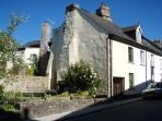 Trevithick Cottage under an eye popping Devon blue sky!