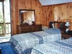 First Floor Bedroom with 2 twin beds.  Bath is across the hall