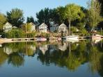 Delta waterfront cottage with dock available