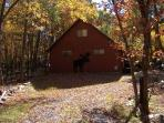 Chalet up in Poconos Mountians